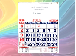 Commercial Calendar